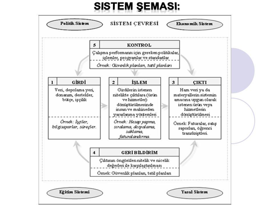 Sistem şemasI: