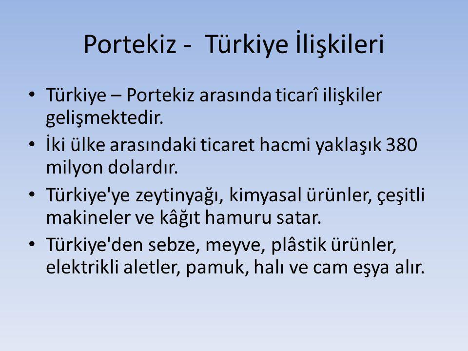 Portekiz - Türkiye İlişkileri