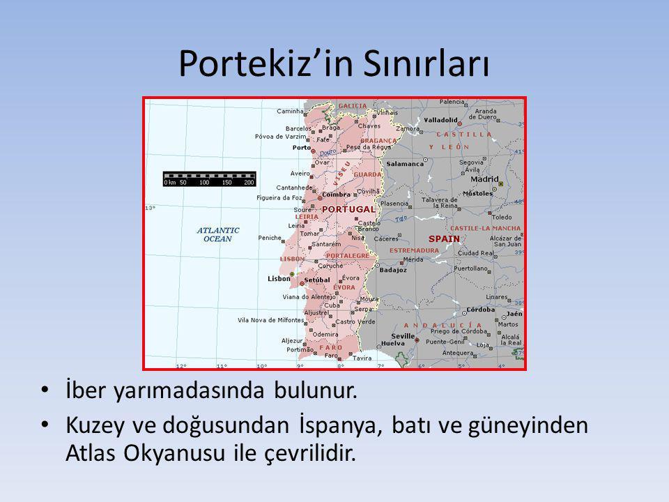 Portekiz'in Sınırları