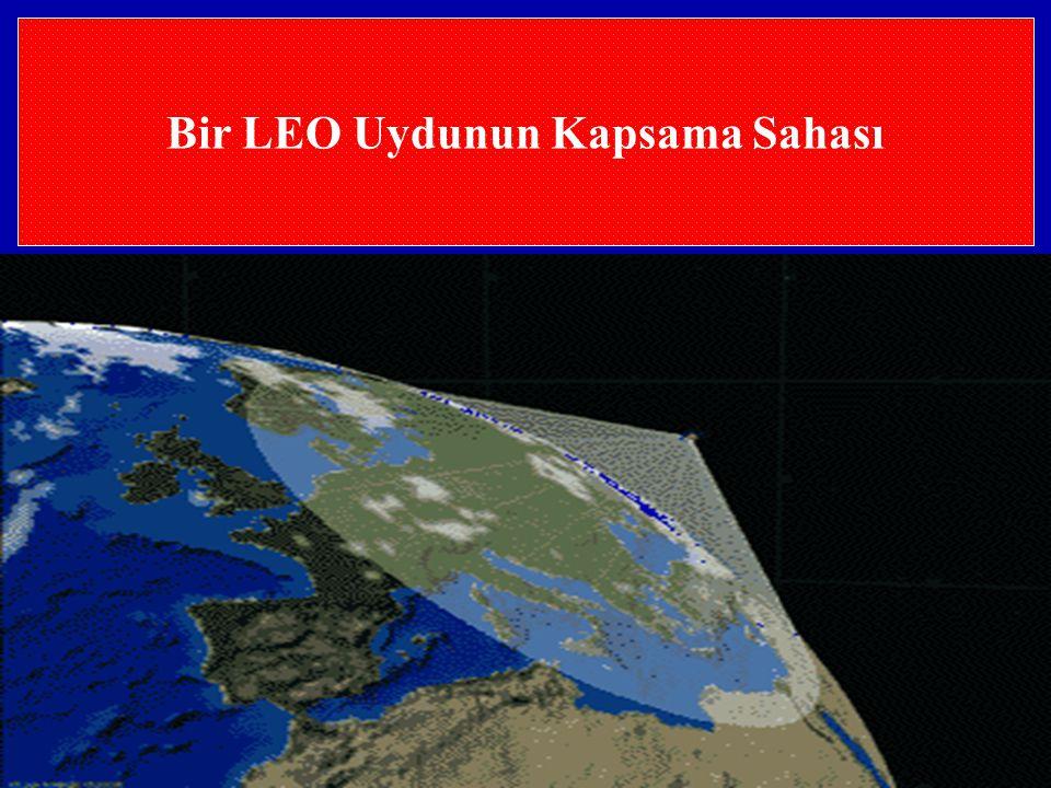 Bir LEO Uydunun Kapsama Sahası