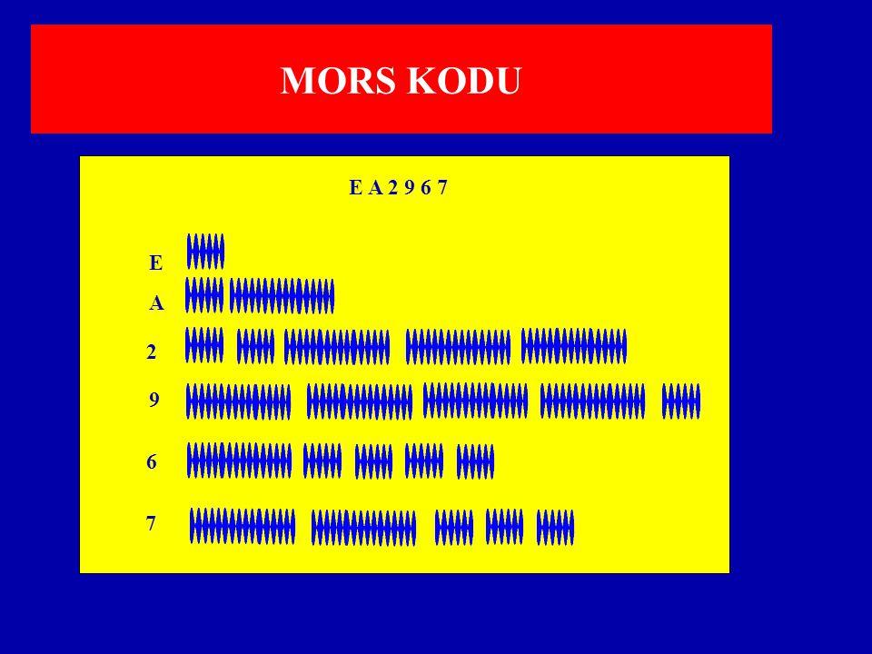 MORS KODU E A 2 9 6 7 E A 2 9 6 7
