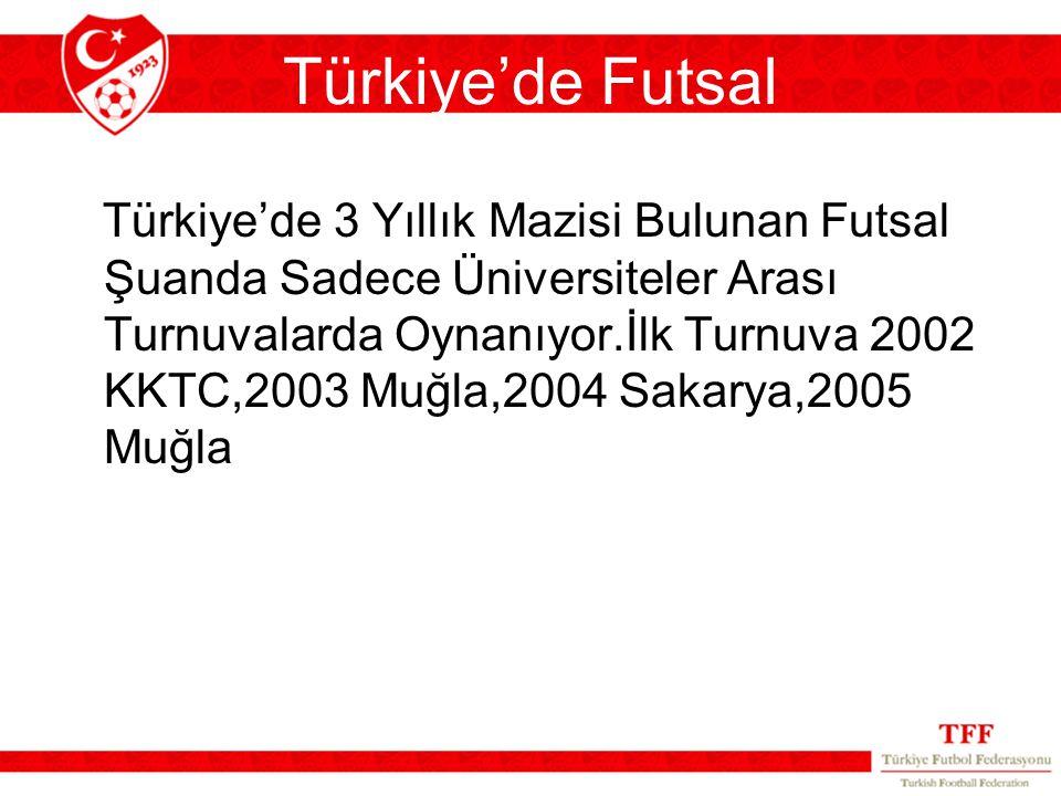 Türkiye'de Futsal
