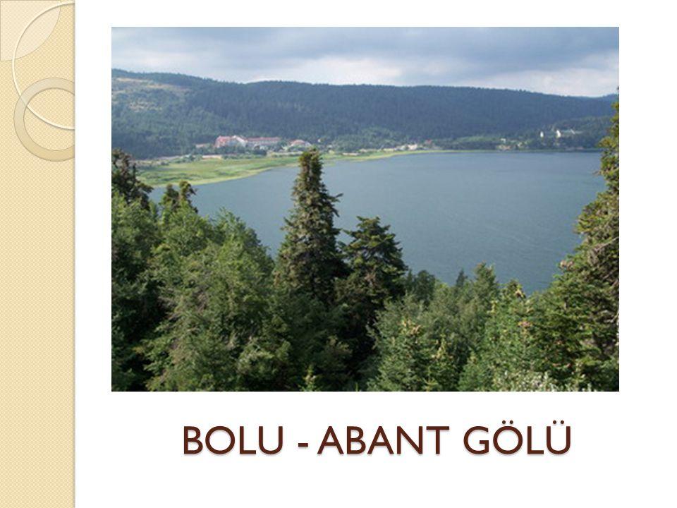 BOLU - ABANT GÖLÜ