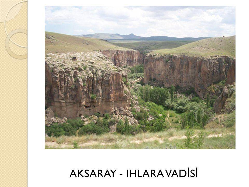 AKSARAY - IHLARA VADİSİ