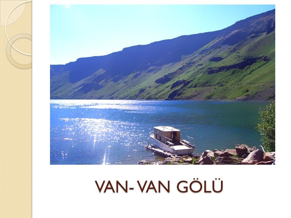 VAN- VAN GÖLÜ