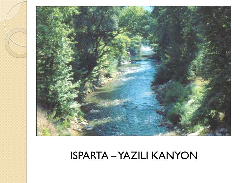 ISPARTA – YAZILI KANYON