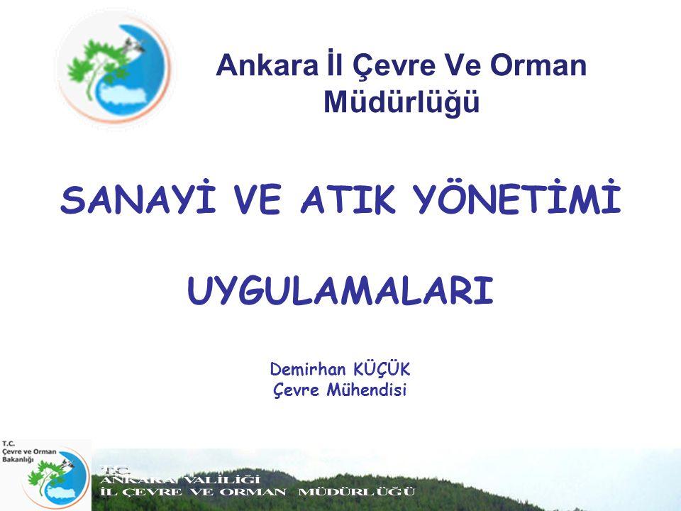 Ankara İl Çevre Ve Orman Müdürlüğü