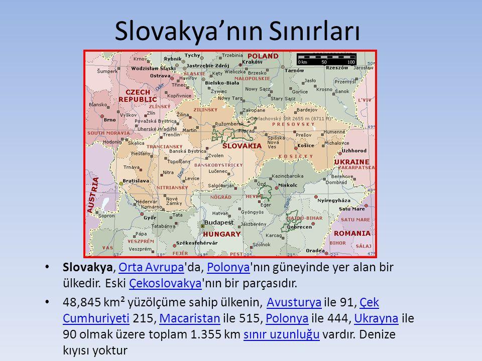 Slovakya'nın Sınırları