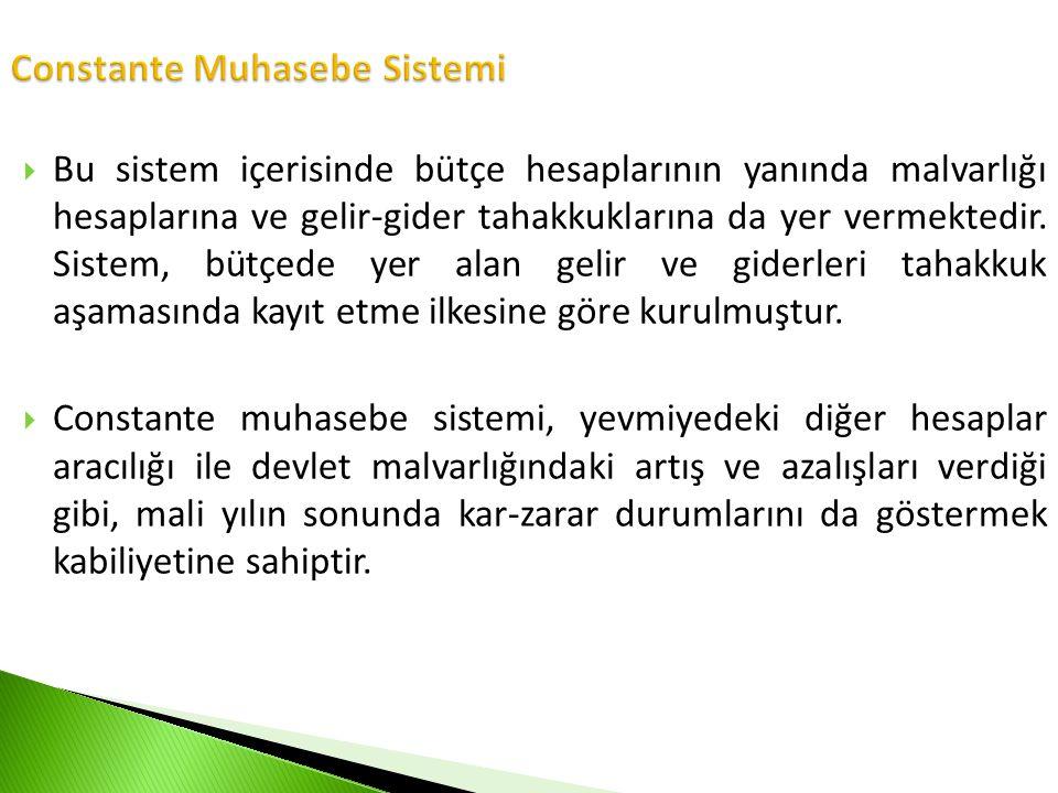 Constante Muhasebe Sistemi