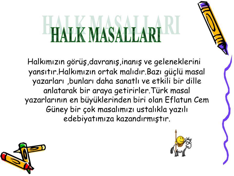 HALK MASALLARI