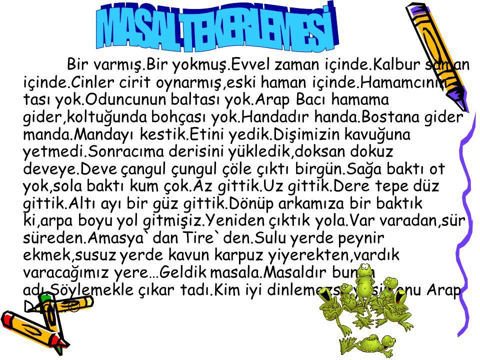 MASAL TEKERLEMESİ