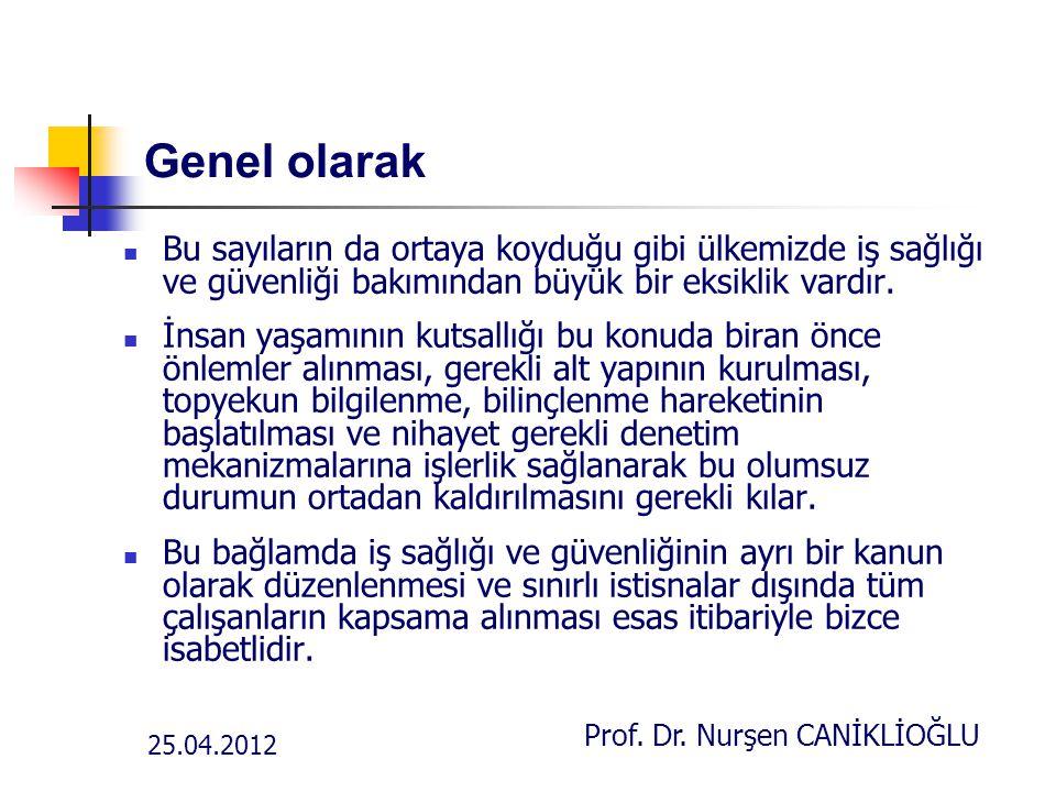 Prof. Dr. Nurşen CANİKLİOĞLU