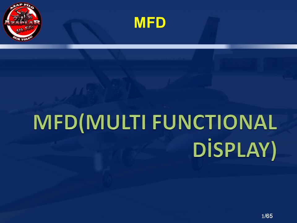 MFD(MULTI FUNCTIONAL DİSPLAY)