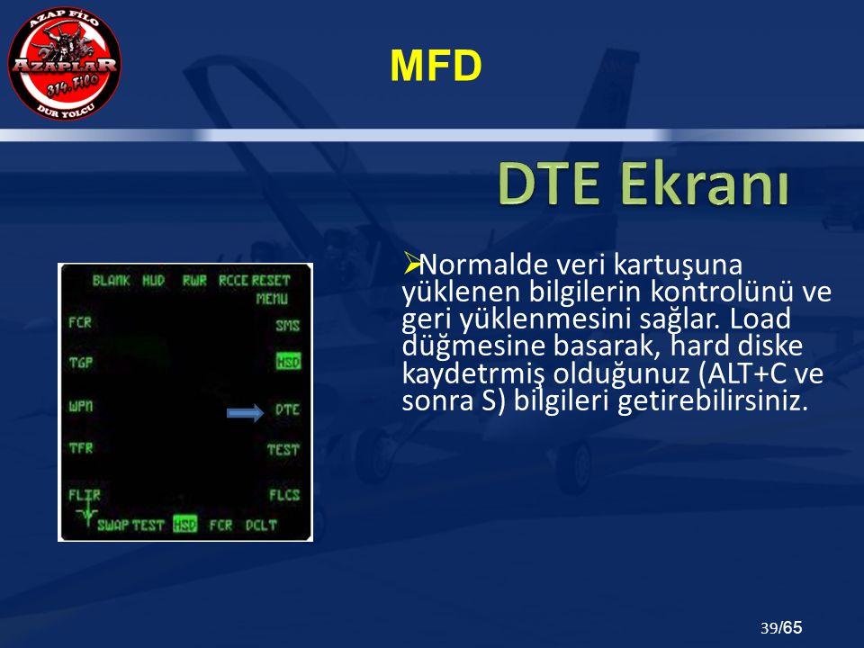 DTE Ekranı