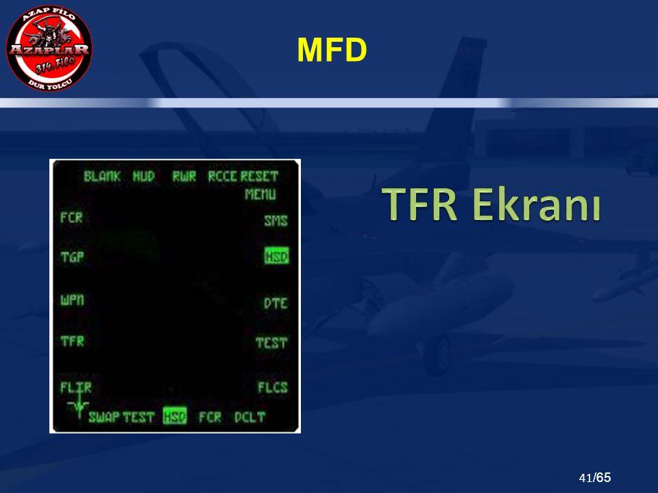 TFR Ekranı