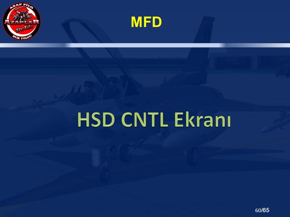 HSD CNTL Ekranı
