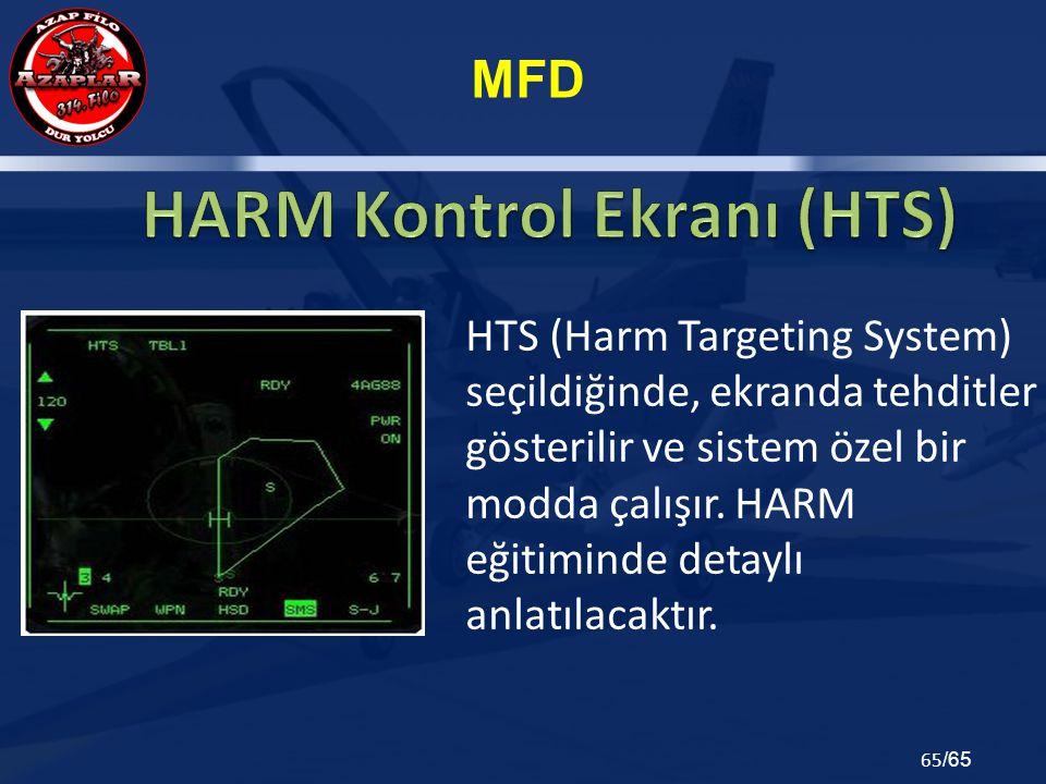 HARM Kontrol Ekranı (HTS)