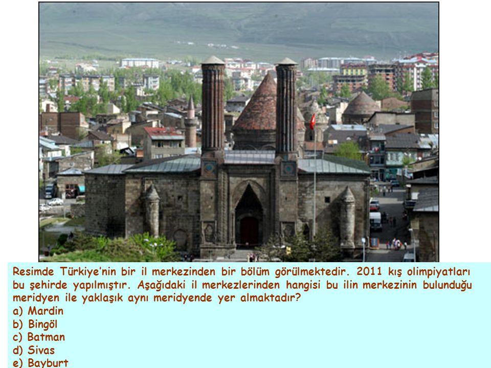 Resimde Türkiye'nin bir il merkezinden bir bölüm görülmektedir