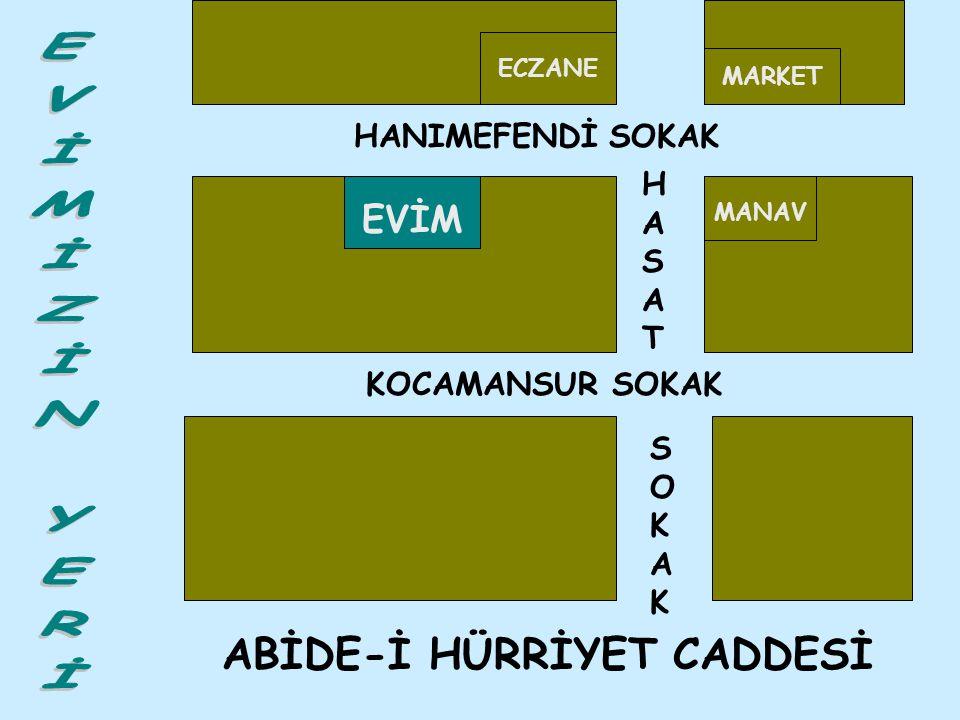 ABİDE-İ HÜRRİYET CADDESİ