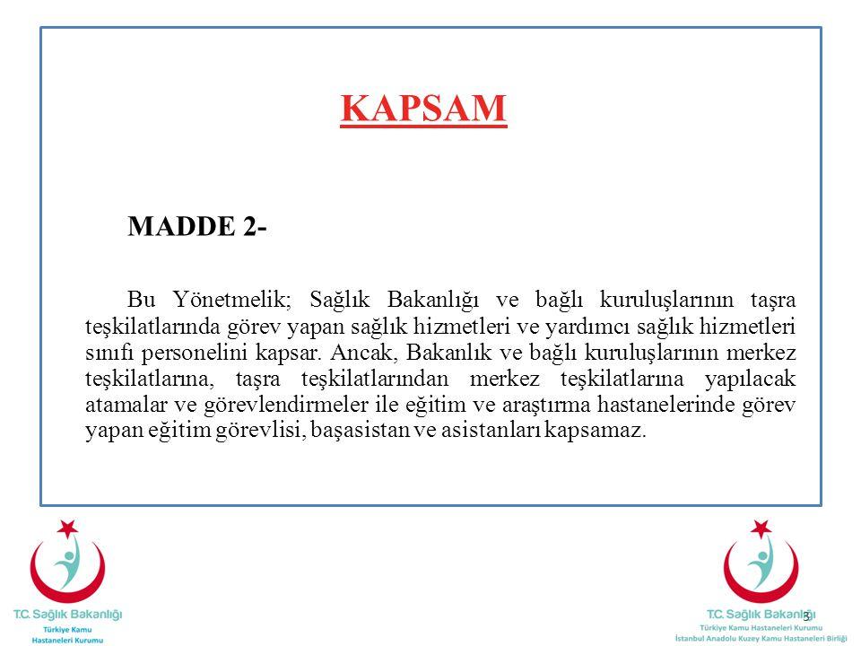 KAPSAM MADDE 2-