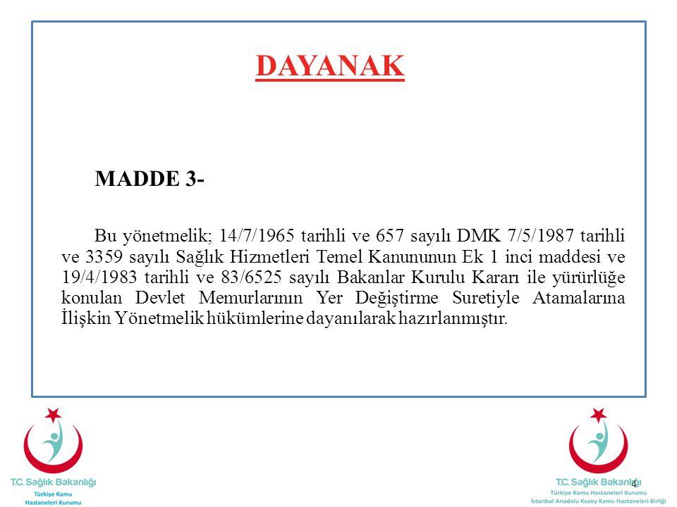 DAYANAK MADDE 3-