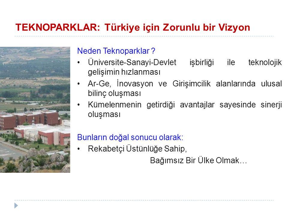 TEKNOPARKLAR: Türkiye için Zorunlu bir Vizyon