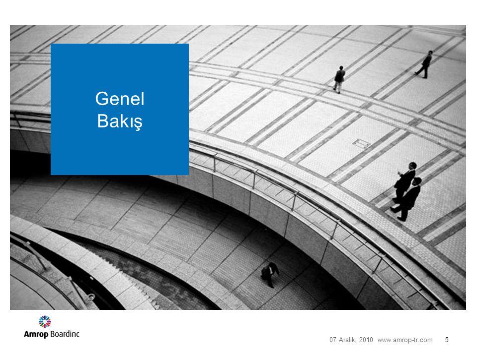 GENEL BAKIŞ Anket Türkiye'nin önde gelen 400 şirketini temsil eden 71 YK Başkanı tarafından Ekim 2010 tarihinde cevaplandı.