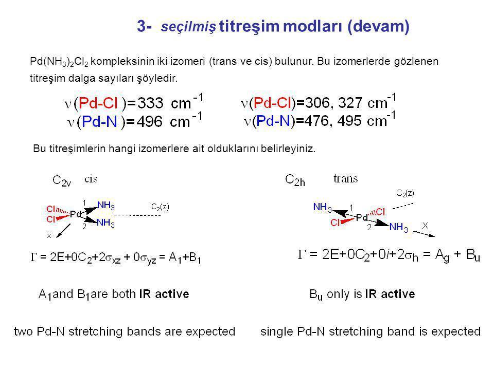 3- seçilmiş titreşim modları (devam)