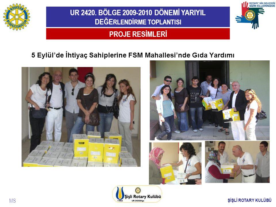 5 Eylül'de İhtiyaç Sahiplerine FSM Mahallesi'nde Gıda Yardımı