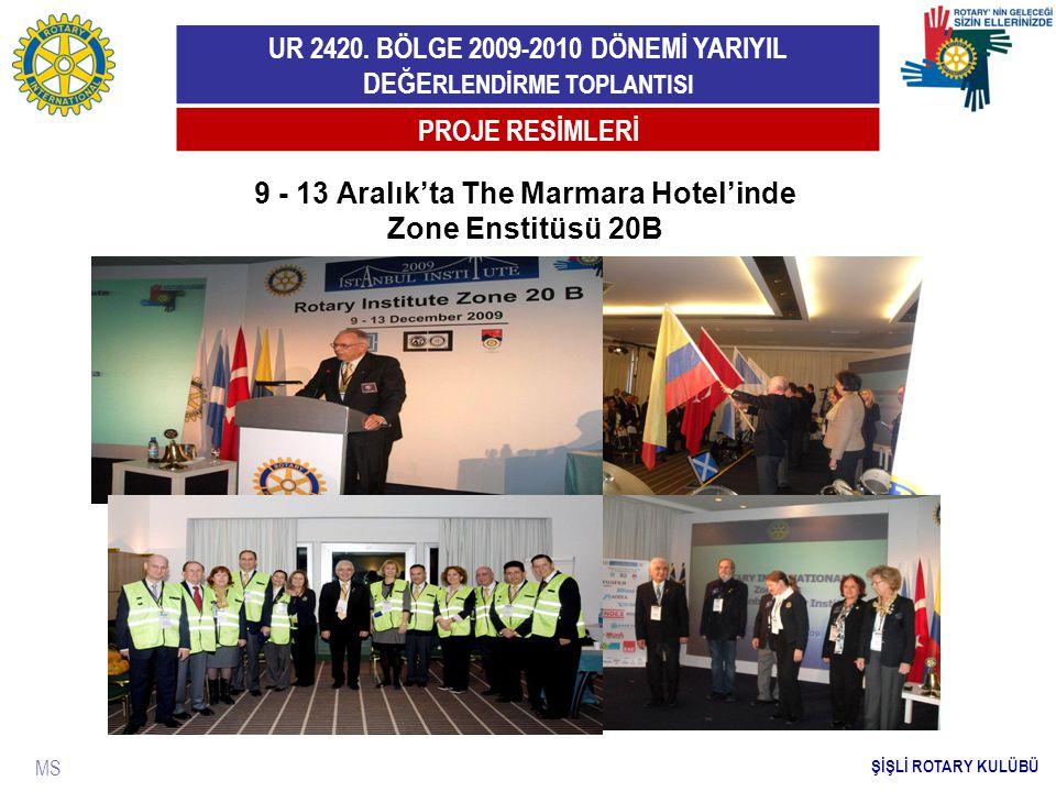 9 - 13 Aralık'ta The Marmara Hotel'inde Zone Enstitüsü 20B