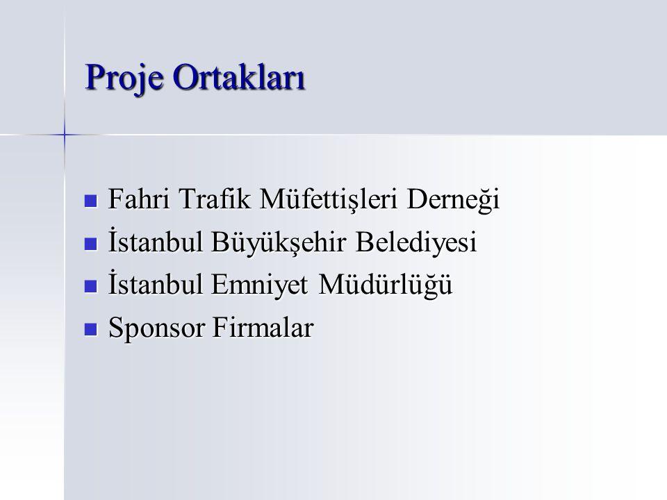 Proje Ortakları Fahri Trafik Müfettişleri Derneği