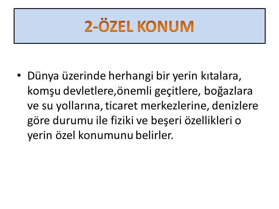 2-ÖZEL KONUM