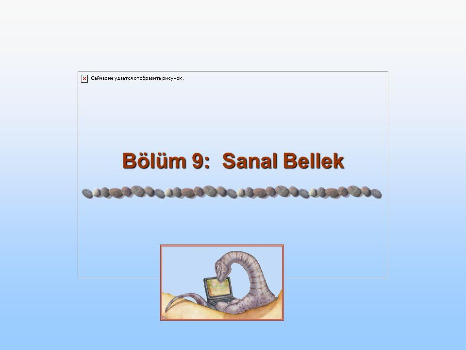 Bölüm 9: Sanal Bellek