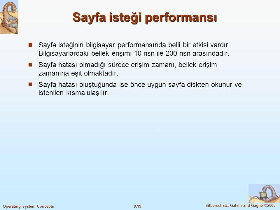 Sayfa isteği performansı