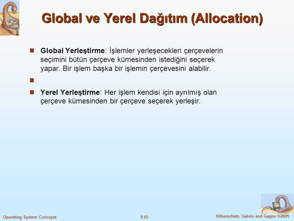 Global ve Yerel Dağıtım (Allocation)