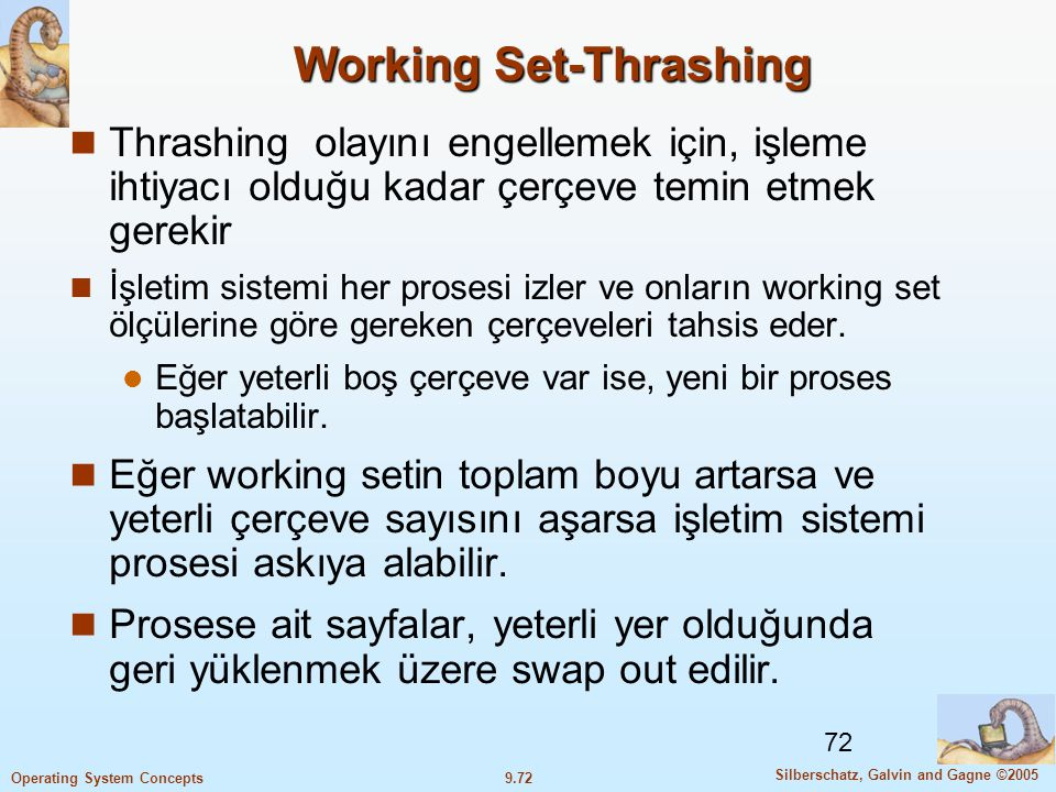 Working Set-Thrashing