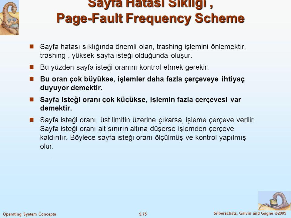Sayfa Hatası Sıklığı , Page-Fault Frequency Scheme