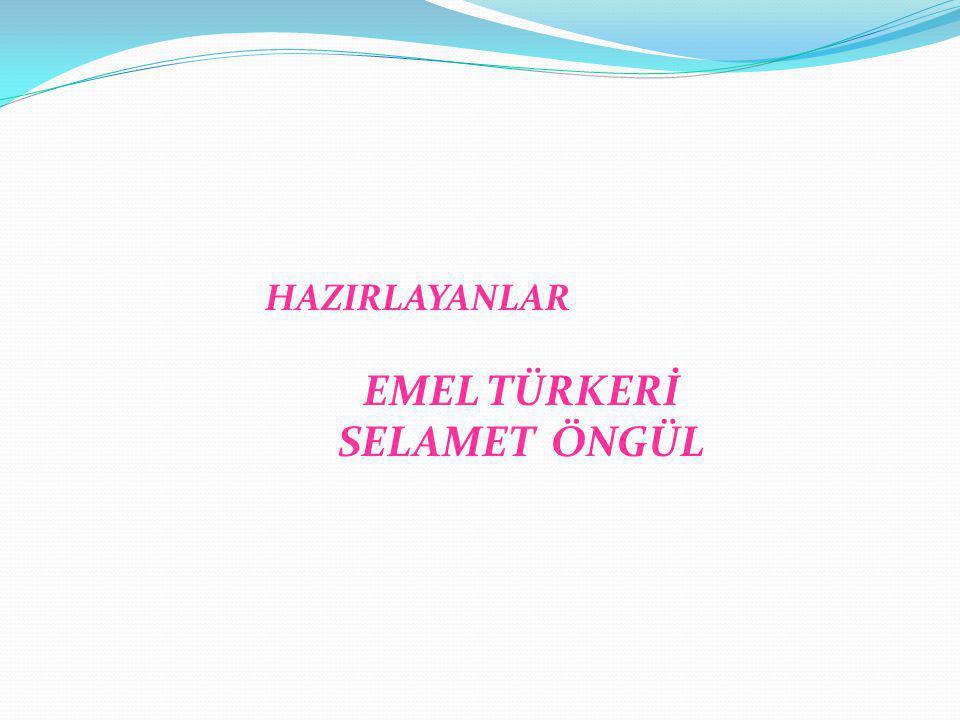 EMEL TÜRKERİ SELAMET ÖNGÜL