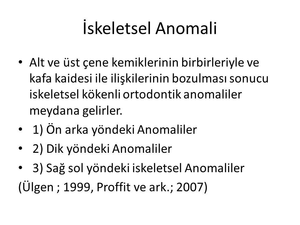 İskeletsel Anomali