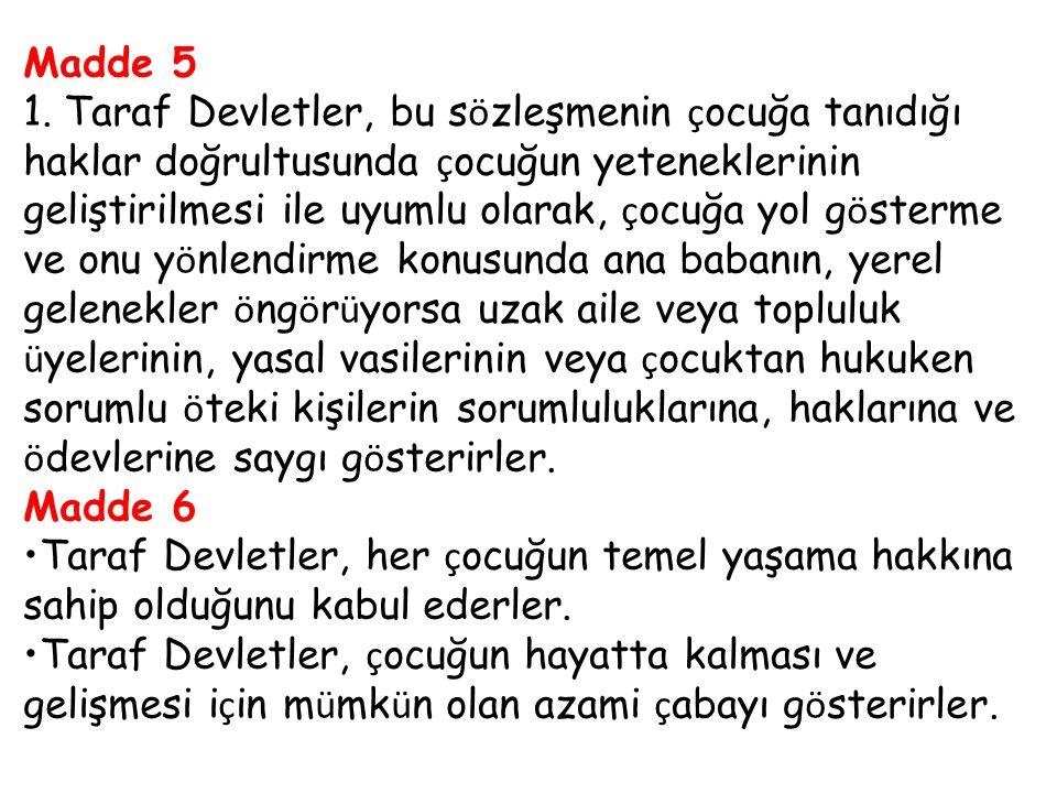 Madde 5