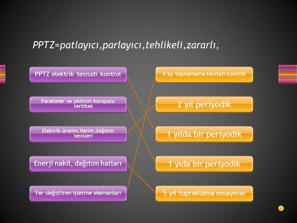 PPTZ=patlayıcı,parlayıcı,tehlikeli,zararlı,