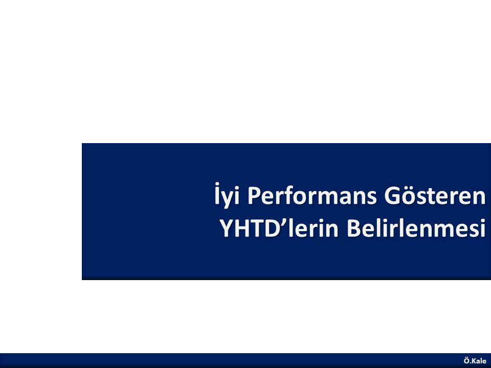 İyi Performans Gösteren YHTD'lerin Belirlenmesi