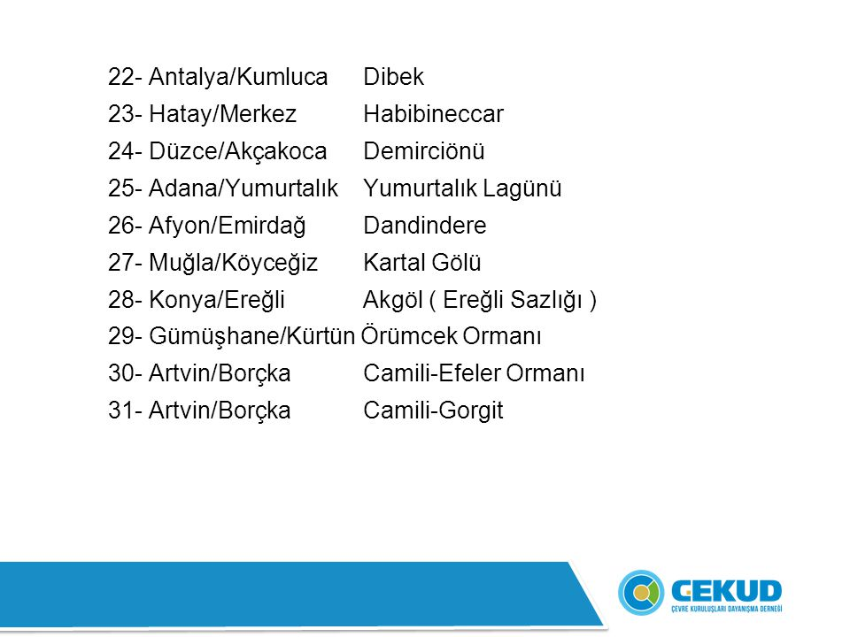 22- Antalya/Kumluca Dibek