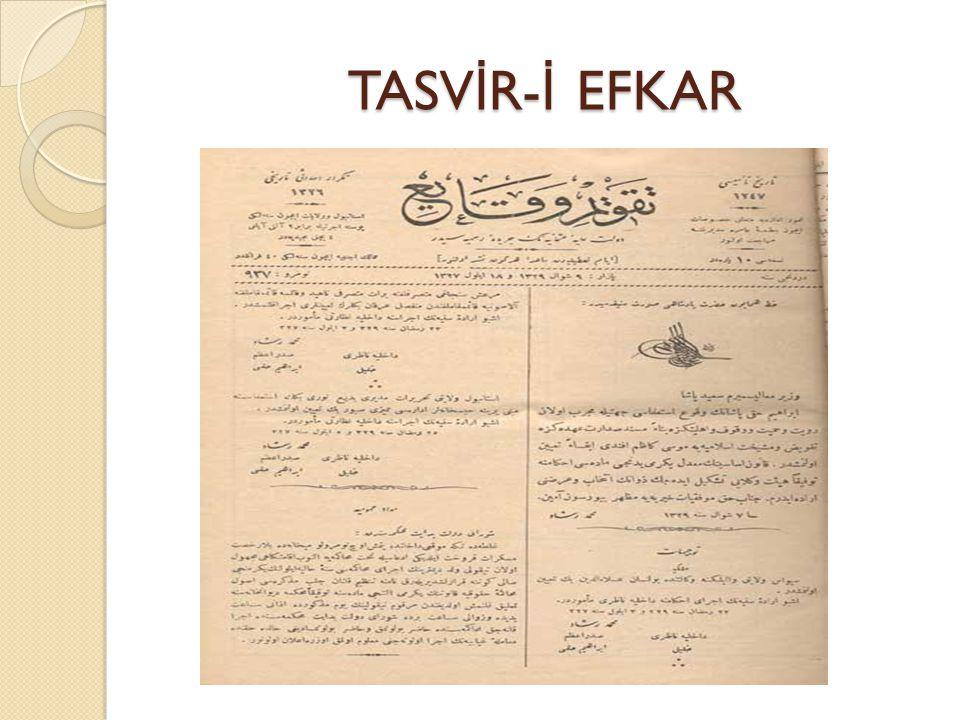 TASVİR-İ EFKAR