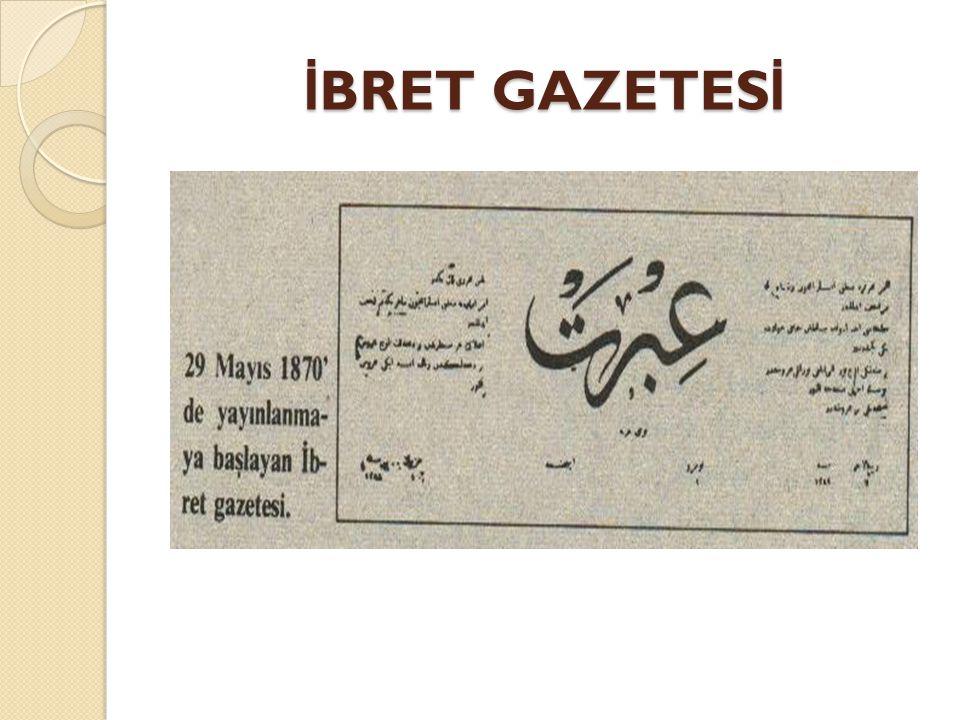 İBRET GAZETESİ