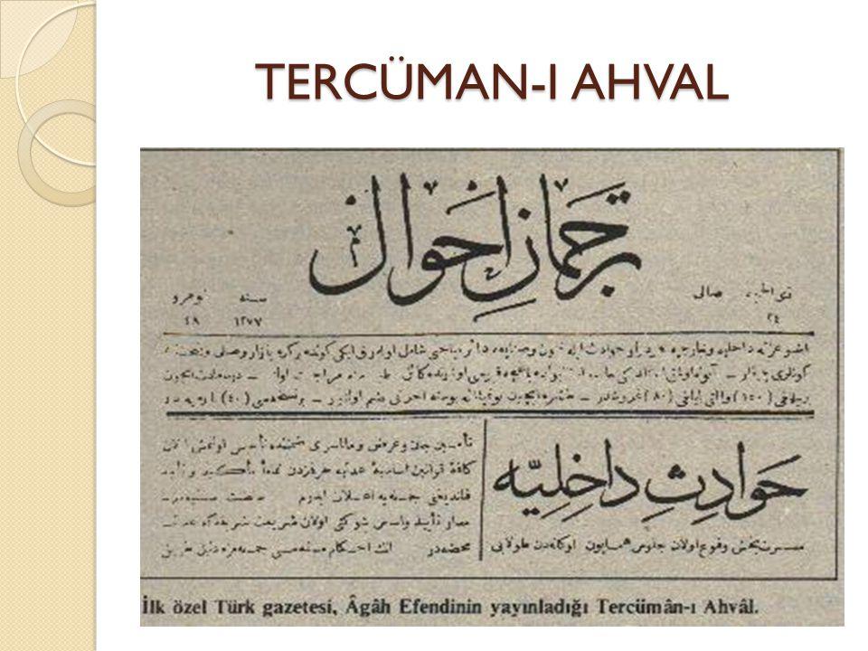 TERCÜMAN-I AHVAL