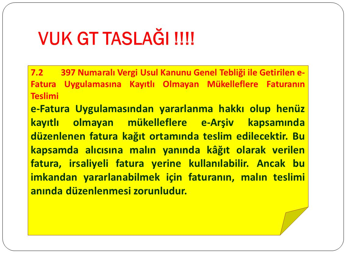 VUK GT TASLAĞI !!!!