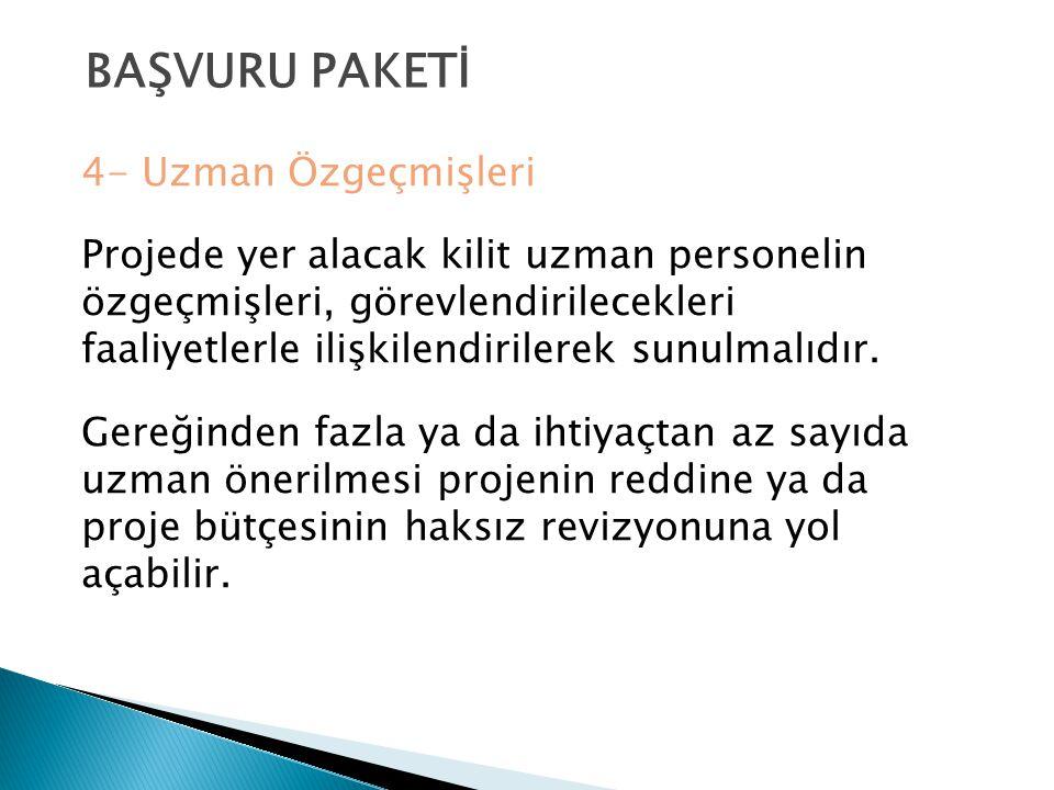 BAŞVURU PAKETİ