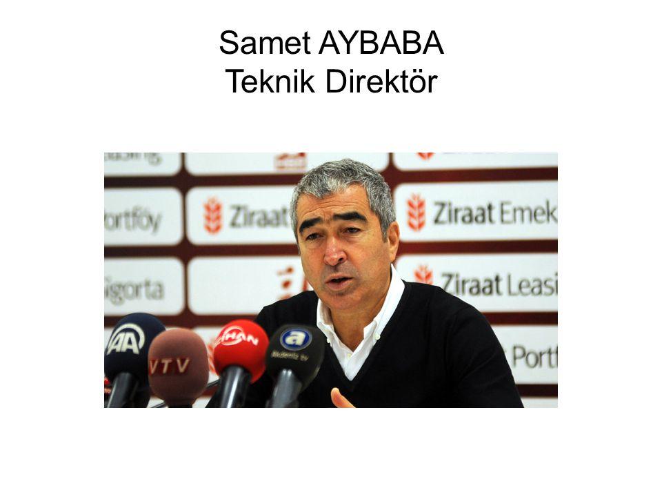 Samet AYBABA Teknik Direktör