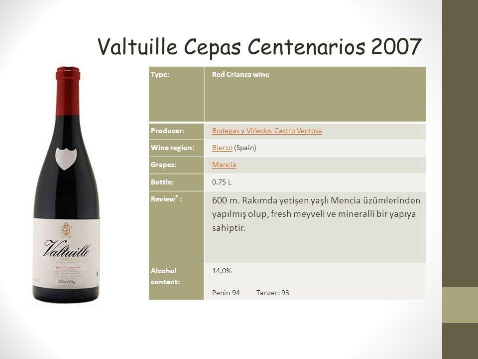 Valtuille Cepas Centenarios 2007